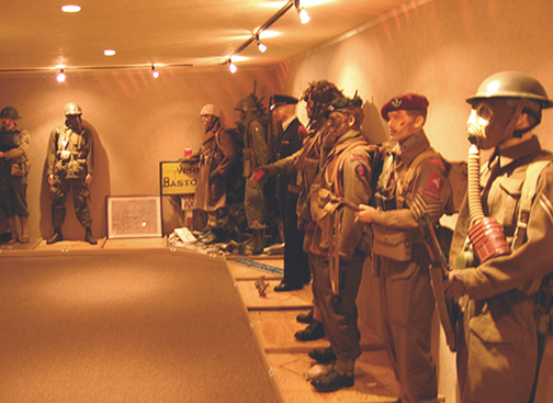 WW II Museum at the Syilagyi Center in Rowlesburg